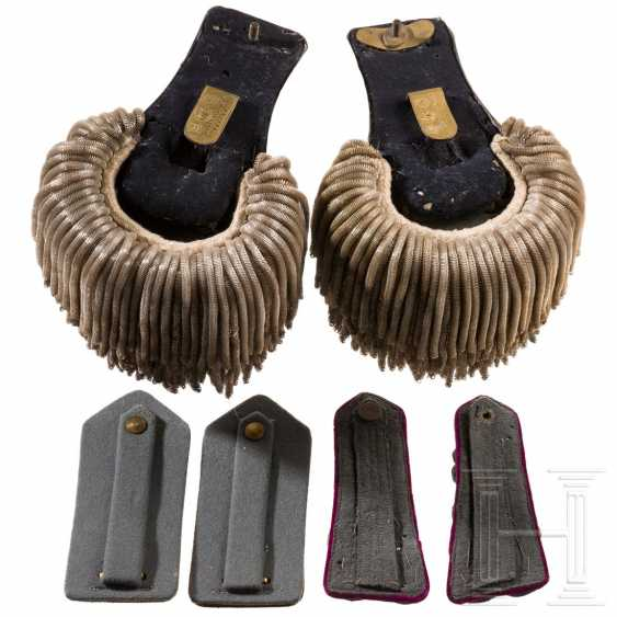 A pair of shoulder boards for a general, WWII - photo 2