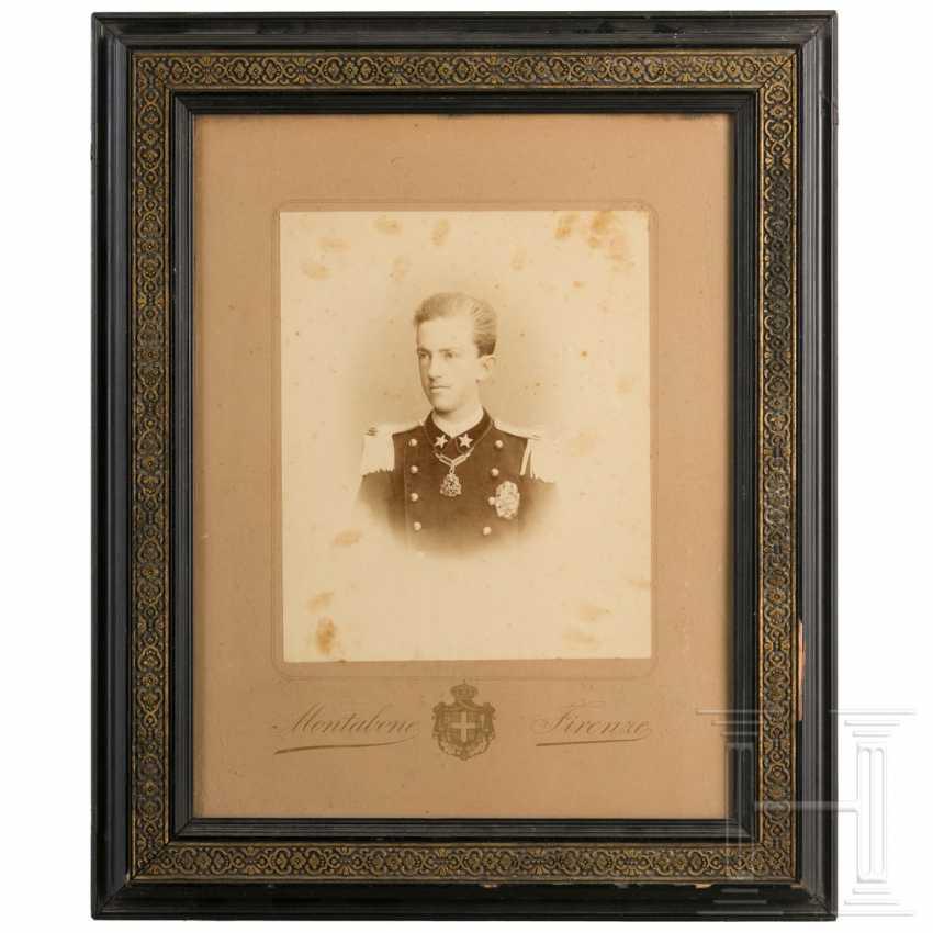 Portrait of Prince Viktor Emanuel, around 1885 - photo 1