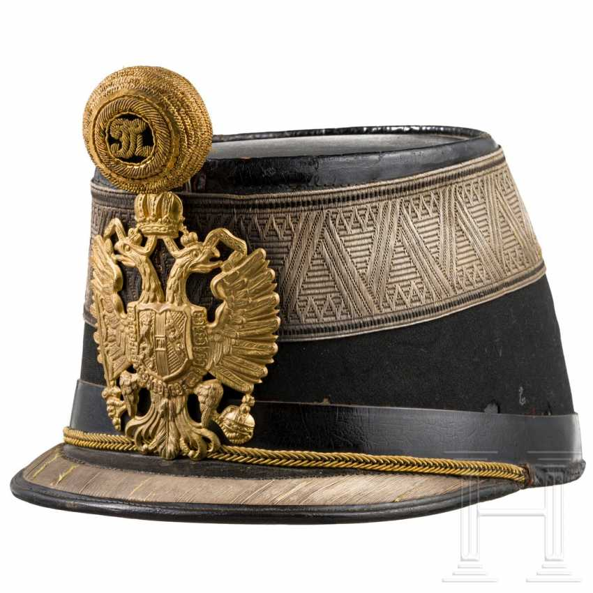 Shako for subaltern officers of the Austro-Hungarian infantry - photo 1