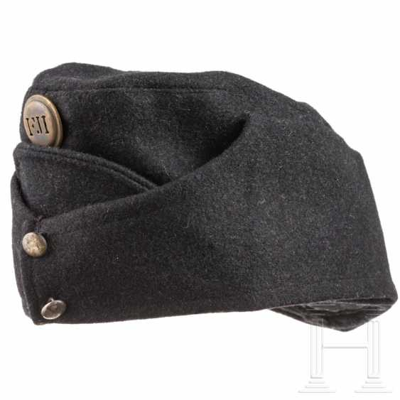 Black cap for men of the Austro-Hungarian Army - photo 1