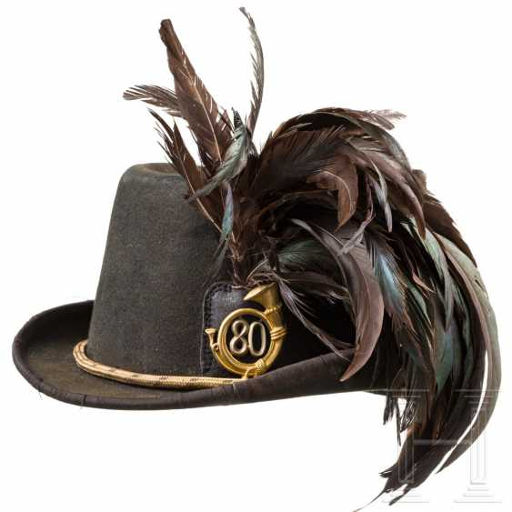 Hunter's hat for officers of the Austro-Hungarian infantry troops - photo 1