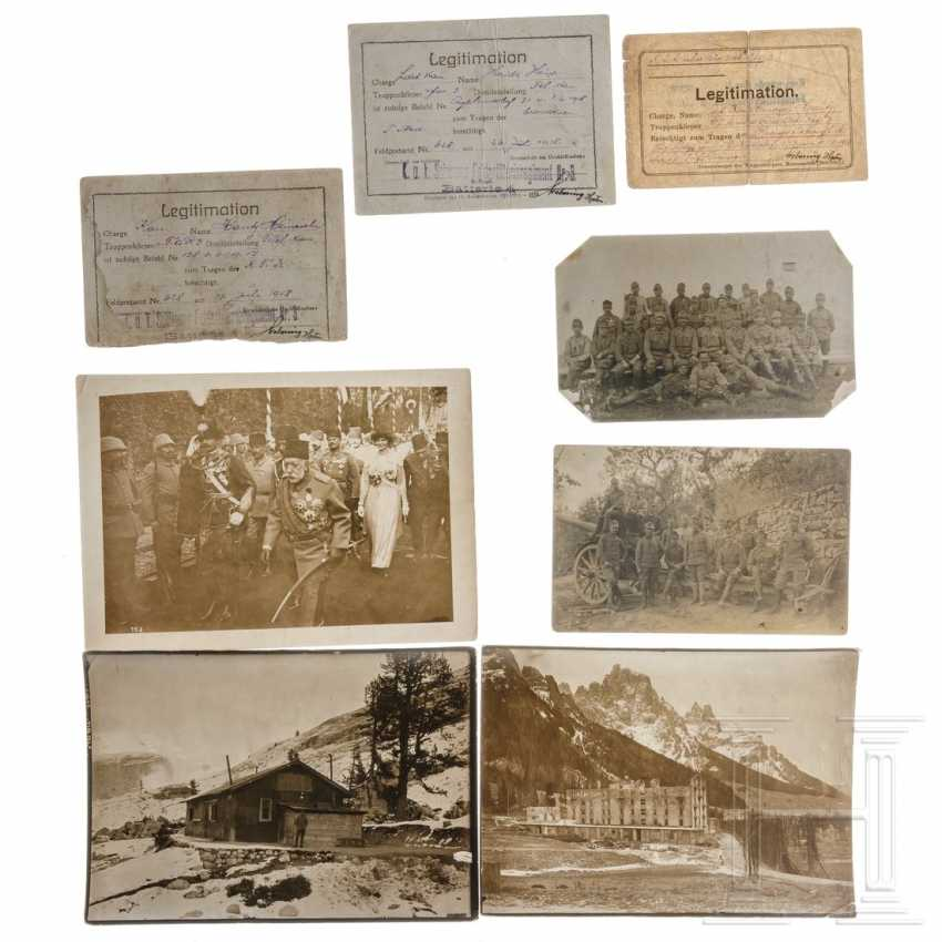 Austria - Group photos and documents Alpine Front 1914-18 - photo 1