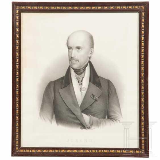 Archduke Johann of Austria - portrait, 19th century - photo 1
