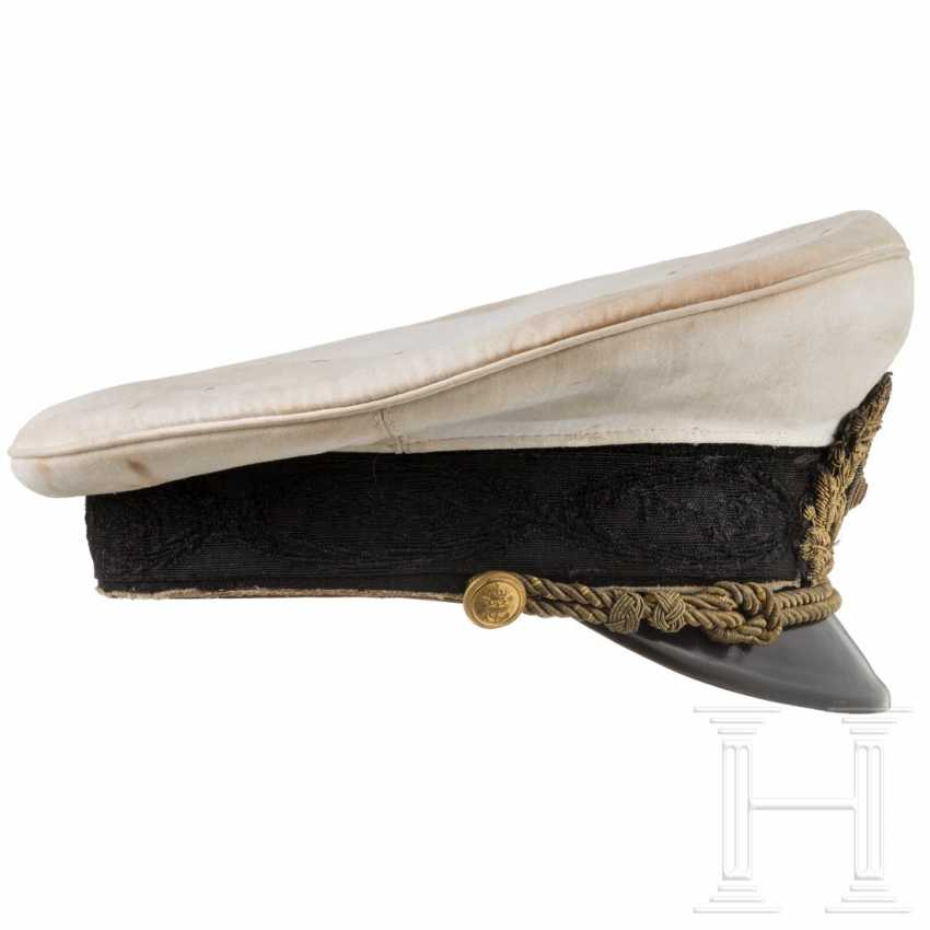 Bulgaria - Visor cap for officers of the Tsarist Navy, before 1946 - photo 2
