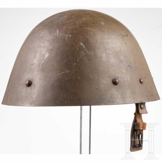 Czech steel helmet, dated 1938 - photo 1