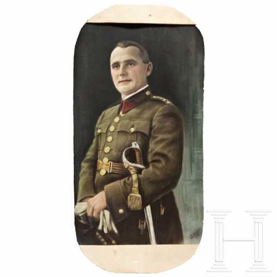 Czech uniform portrait, dated 1933 - photo 1