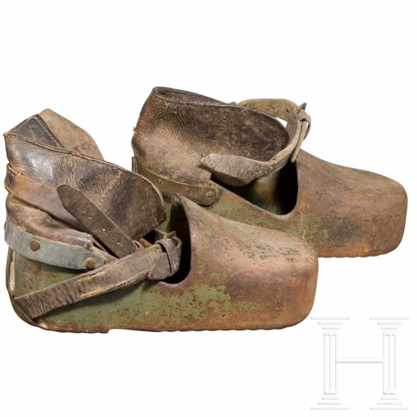 A pair of combat diving shoes, 1st half of the 20th century - photo 2