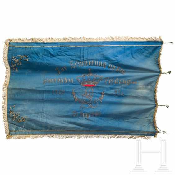 Warrior Association flag Großeibstadt, dated 1895 - photo 1