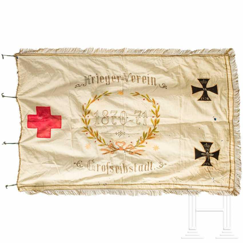 Warrior Association flag Großeibstadt, dated 1895 - photo 2