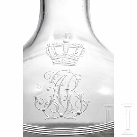 Bavaria royal house - Prince and Princess Alfons of Bavaria (1862-1933) - wine decanter - photo 2