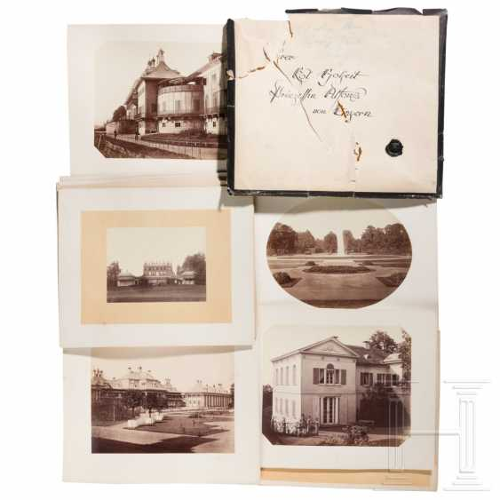 15 large-format photos of Pillnitz Castle with vineyard and Bushy House, around 1860/70 - photo 1