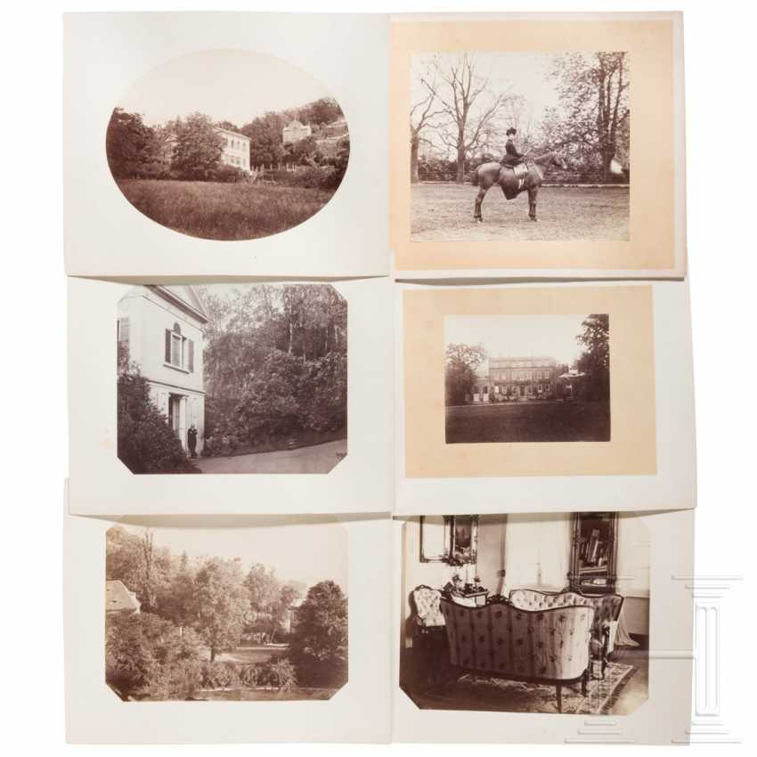 15 large-format photos of Pillnitz Castle with vineyard and Bushy House, around 1860/70 - photo 2