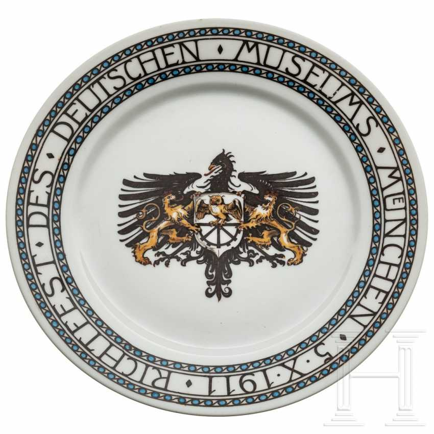 Plate for the Deutsches Museum Munich, dated 1911 - photo 1