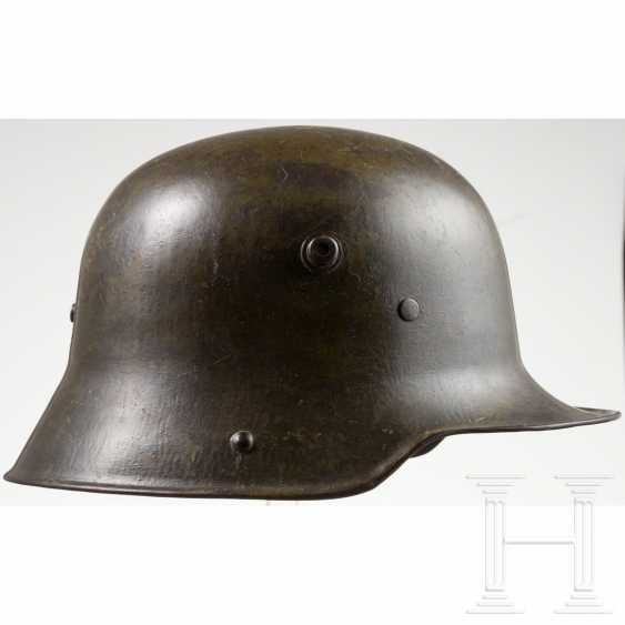 M 16 helmet for storm soldiers in World War I, German Empire - photo 2