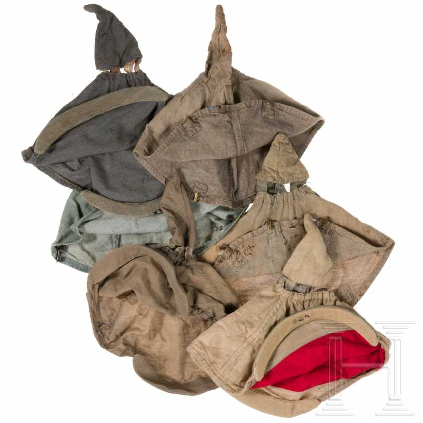 Six helmet covers and a helmet cover - photo 3
