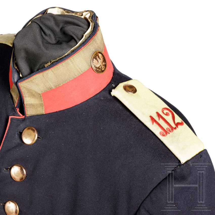 Prussia - tunic for a sergeant in the 4th Baden Infantry Regiment Prinz Wilhelm No. 112, around 1900 - photo 3