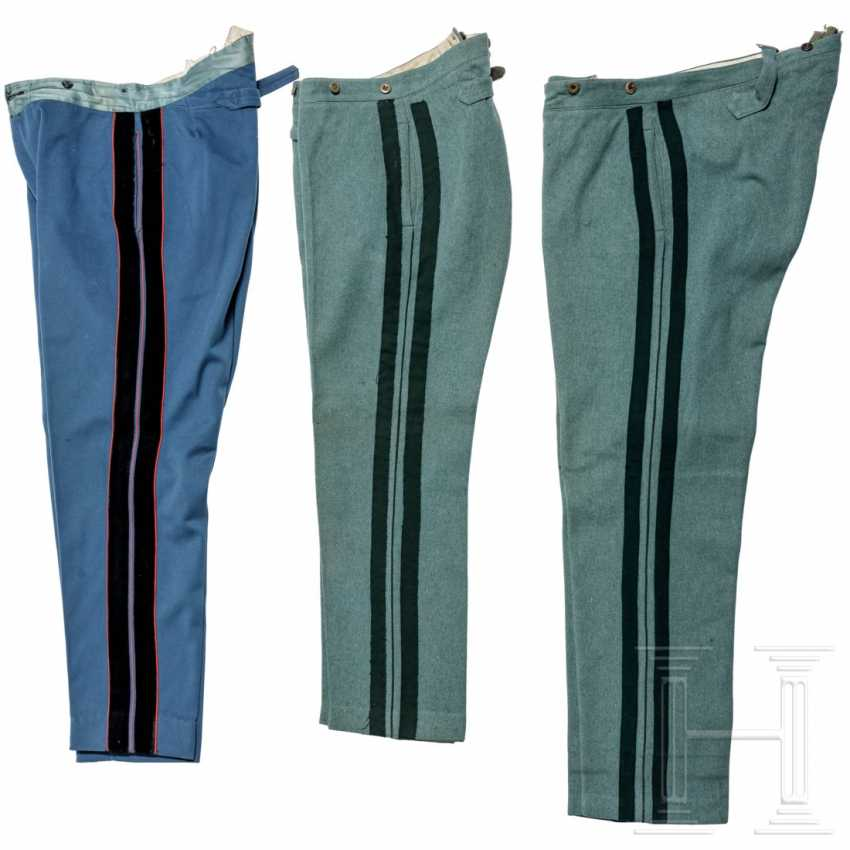 Prussia - three cloth trousers for officers, 1st quarter of the 20th century - photo 2