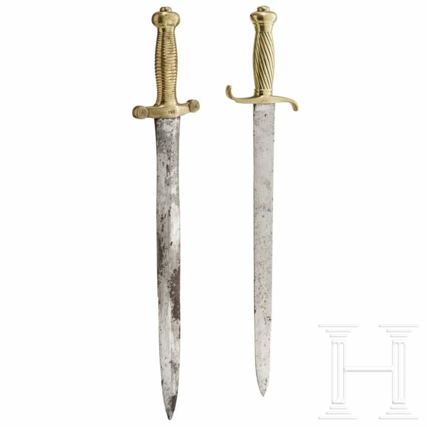 Prussia - two fascine knives, 19th century - photo 1