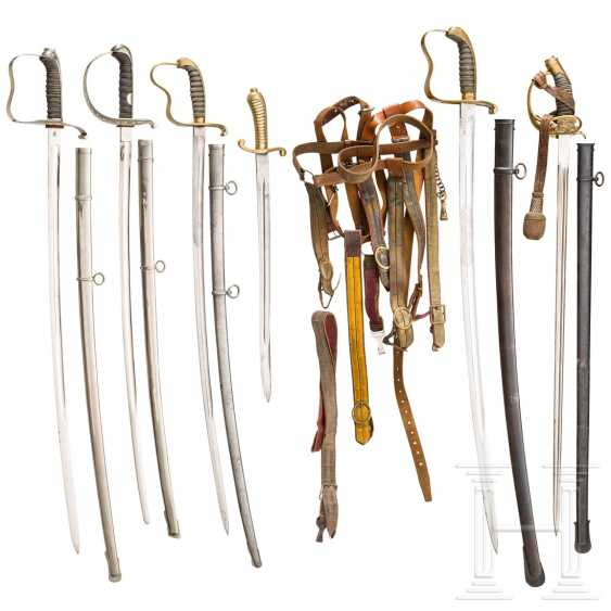 Six edged weapons - photo 1