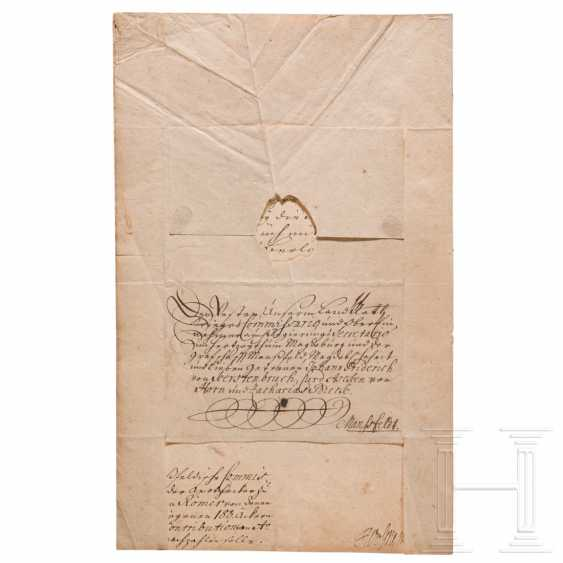 Prussia - King Friedrich Wilhelm I, autograph, dated May 3, 1714 - photo 3