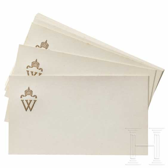 Kaiser Wilhelm II. - ten personal greeting and condolence cards - photo 1