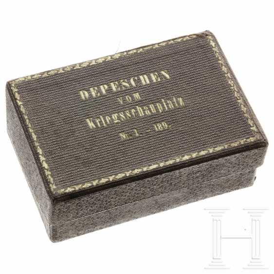 Prussia - war dispatches 1870/71, No. 1 - 189, probably from the possession of the Empress Augusta - photo 1