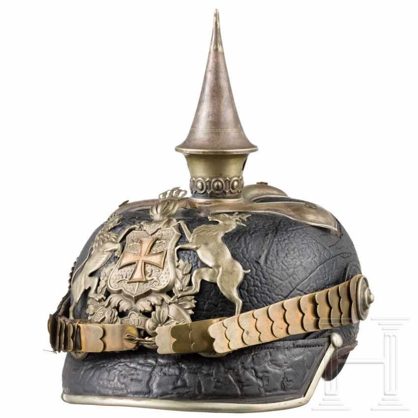 Württemberg - helmet for officers of the cavalry, around 1900 - photo 1