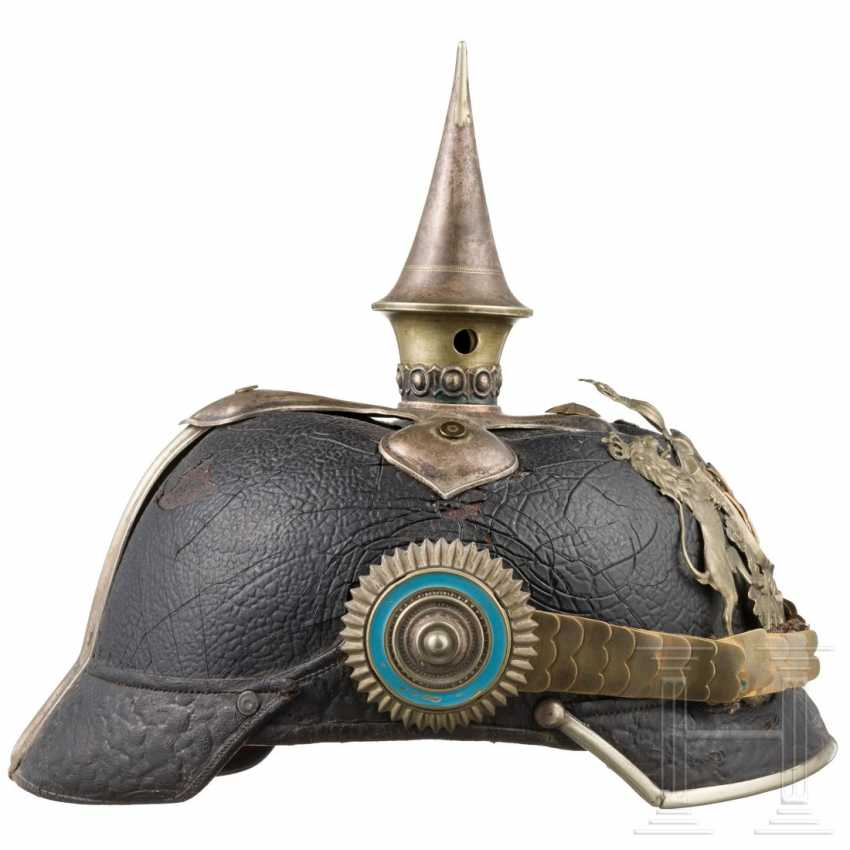 Württemberg - helmet for officers of the cavalry, around 1900 - photo 2