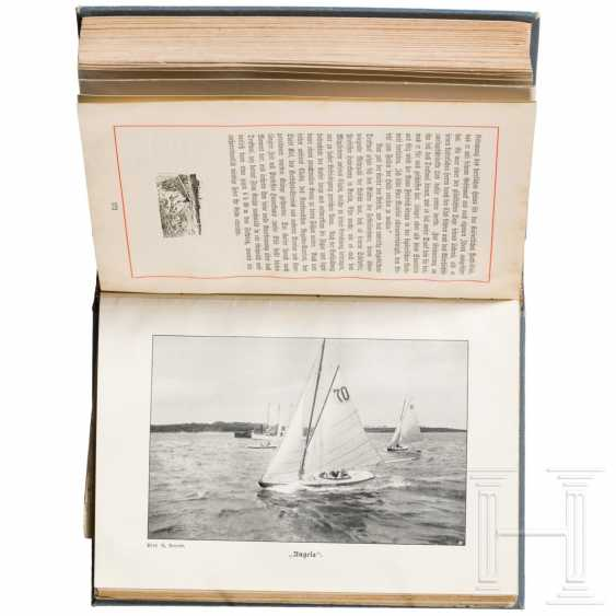 "Crown Prince Wilhelm of Prussia (1882 - 1951) - ""Yacht Angela"" gift box - photo 4"