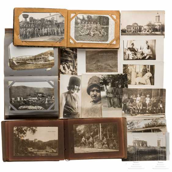 Three photo albums, German soldiers in World War I (Romania and France) - photo 1