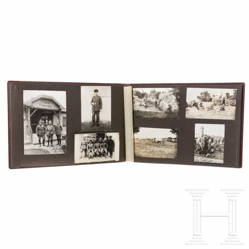 Decorative photo album - German pioneer division in the Balkans during World War I - photo 1