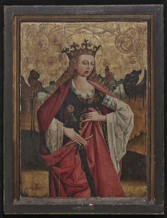 Westphalia (?) - St. Catherine of Alexandria, late 15th century - photo 2