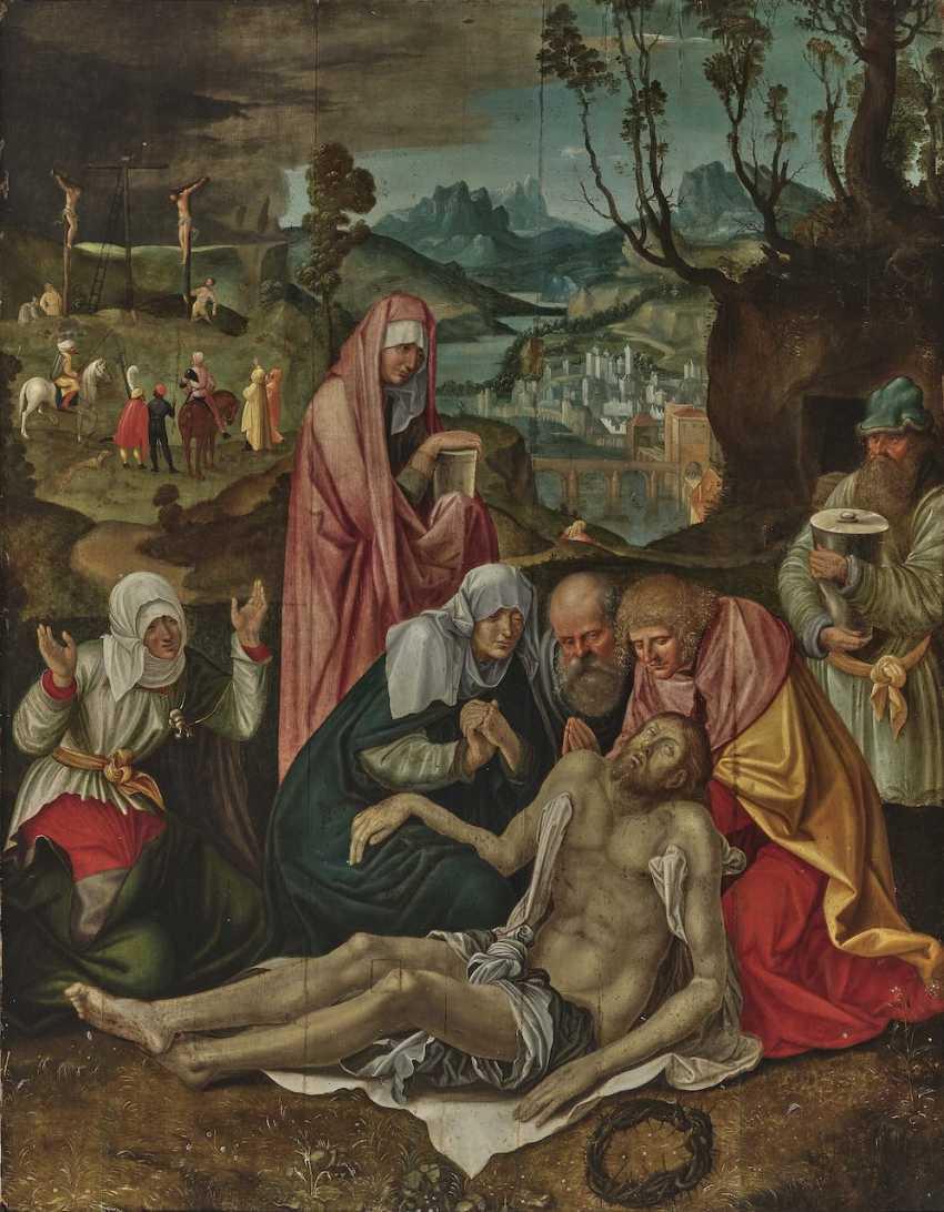 Albrecht Dürer, successor probably around 1620 - The Lamentation of Christ - photo 1