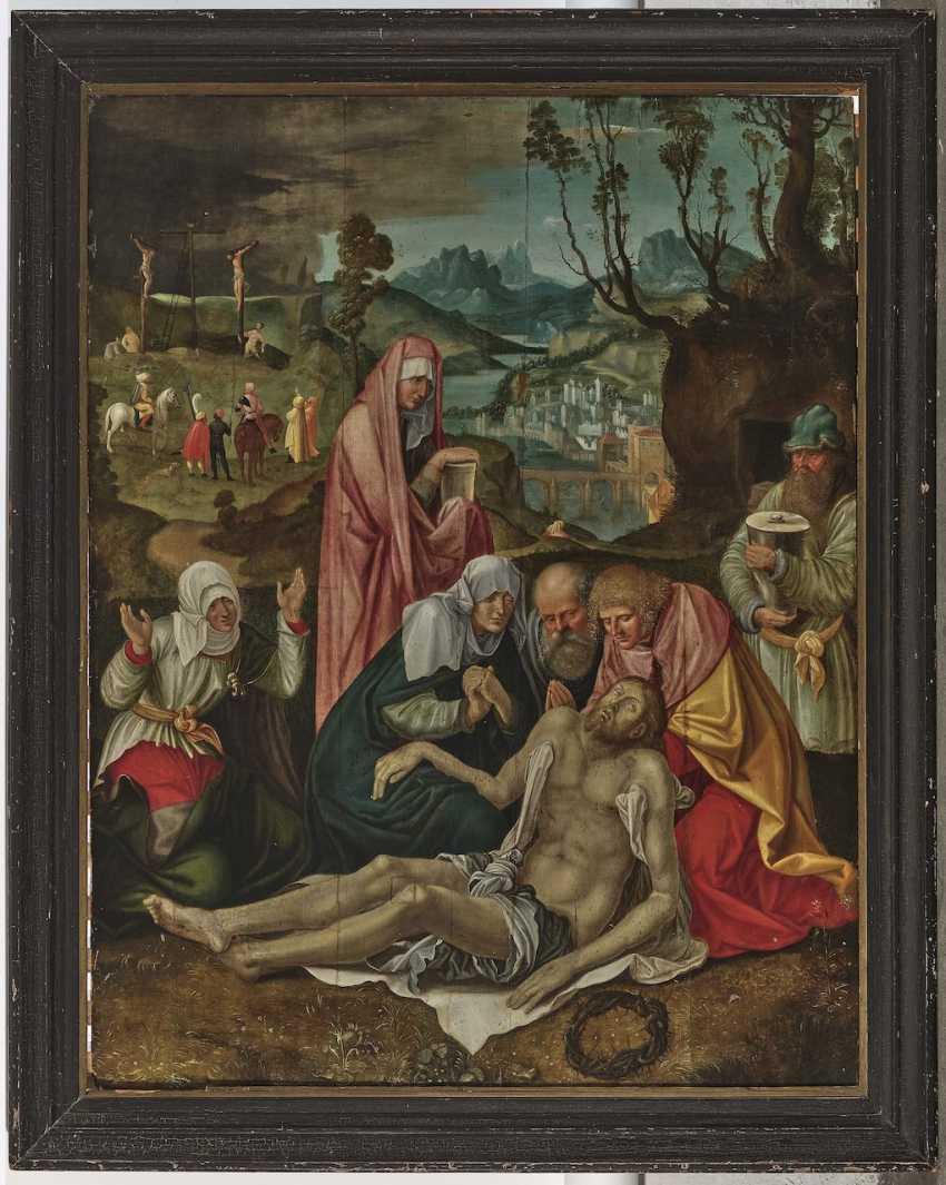 Albrecht Dürer, successor probably around 1620 - The Lamentation of Christ - photo 3
