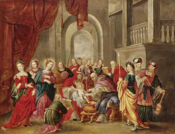 Flemish - The Circumcision of Christ, 17th century - photo 1