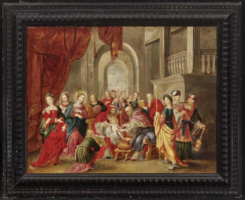 Flemish - The Circumcision of Christ, 17th century - photo 2
