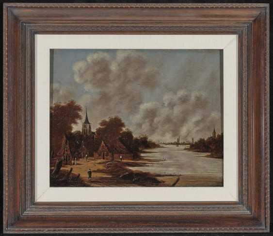 Jan (Johan) Meerhoud - River Landscape - photo 2
