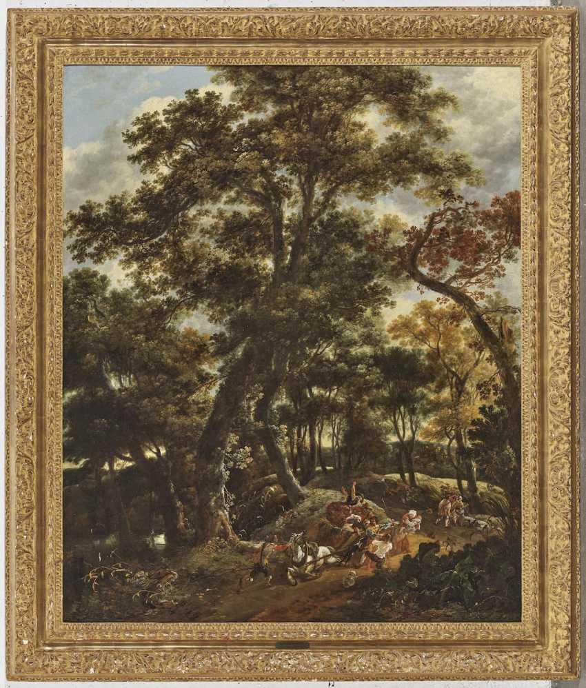Adriaen Hendriksz. Verboom - attack in the forest - photo 3