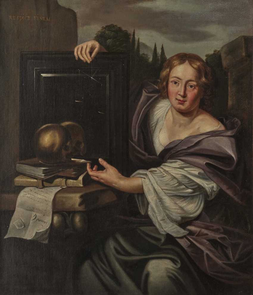 Netherlands (Utrecht?) - Allegory of Transience, 17th century - photo 1