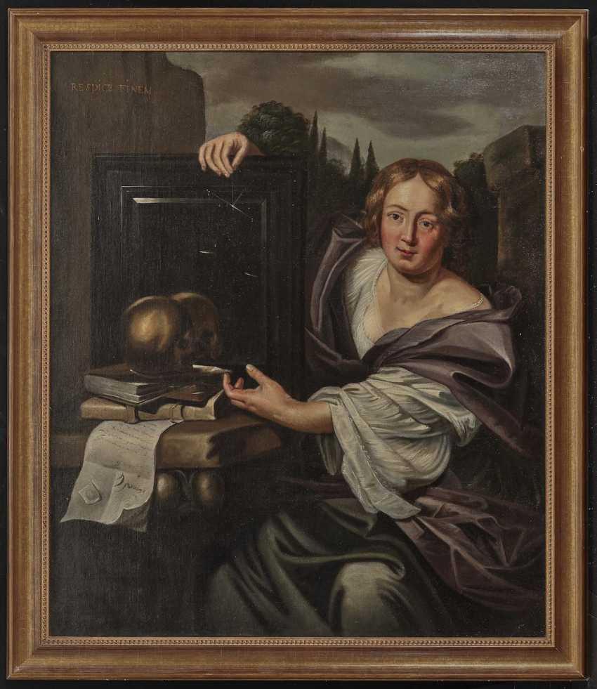 Netherlands (Utrecht?) - Allegory of Transience, 17th century - photo 2