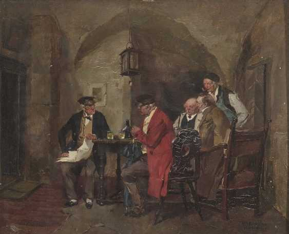 Wilhelm Roegge the Elder J. - In the wine cellar - photo 1