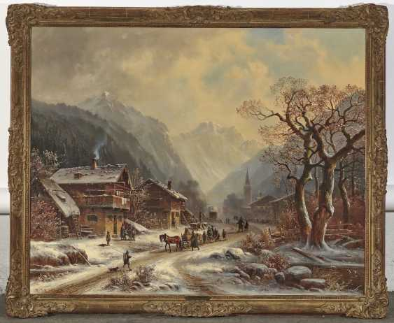 Anton Doll - Winter mountain village - photo 3