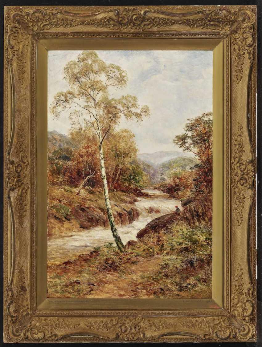 Alfred de Bréanski - The River at Dolgelly, N. Wales - photo 2