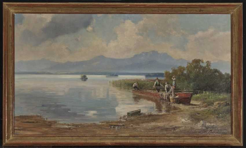 Willy Moralt - fisherman on the banks of the Chiemsee - photo 2