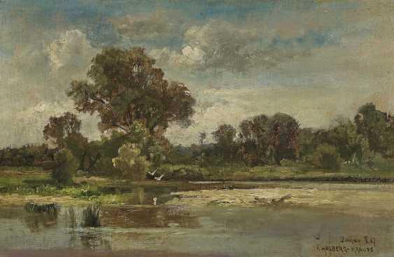 Fritz Halberg-Krauss - Uferlandschaft - photo 1