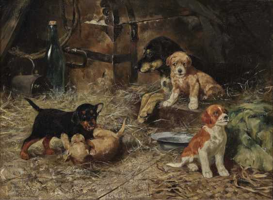 Josef Schmitzberger - female dog with four puppies - photo 1