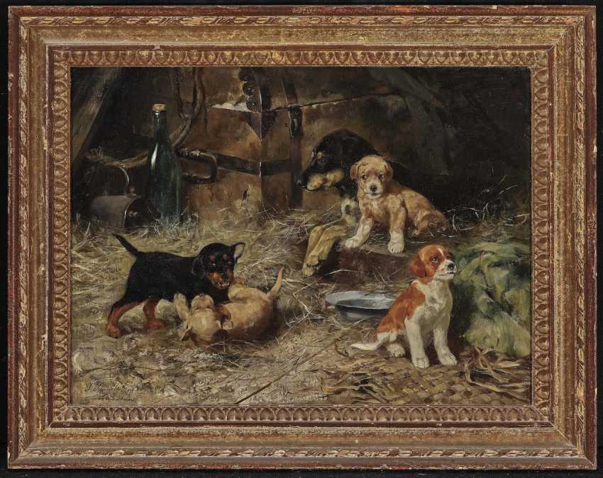 Josef Schmitzberger - female dog with four puppies - photo 2