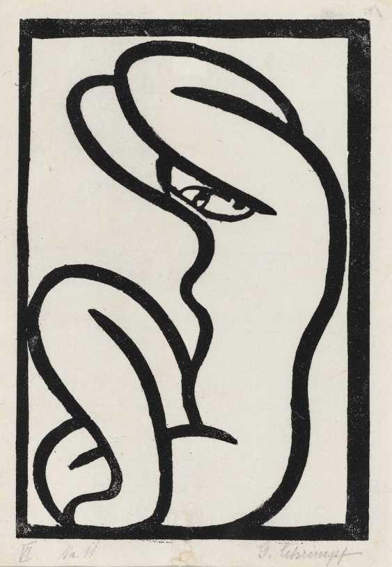 Georg Schrimpf - Nude. 1915 - photo 1