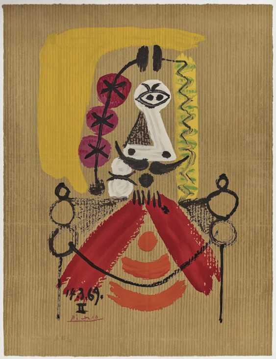 Pablo Picasso (nach) - Imaginary Portrait (The King) - photo 1