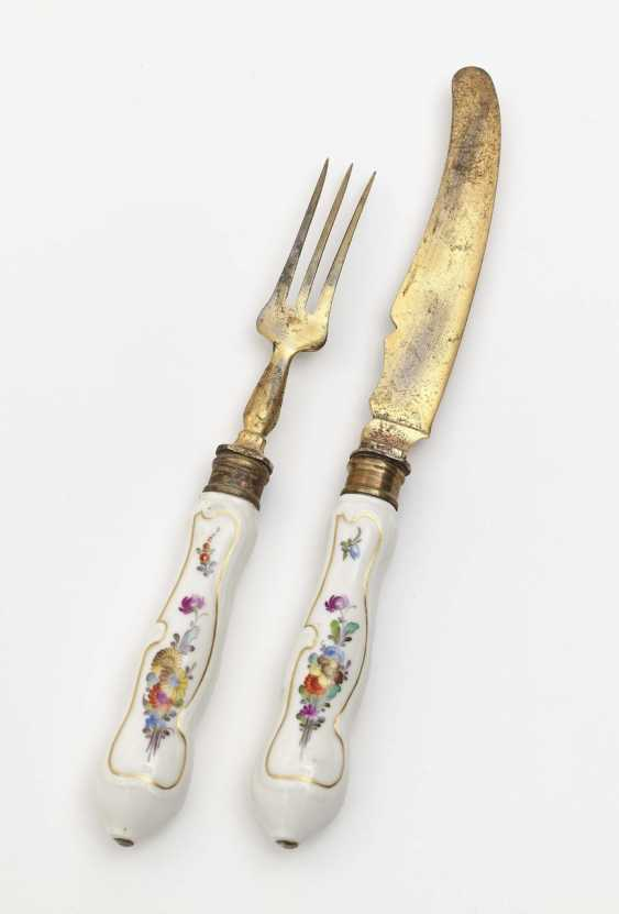 Meissen knife and fork, 2nd half of the 18th century - photo 2